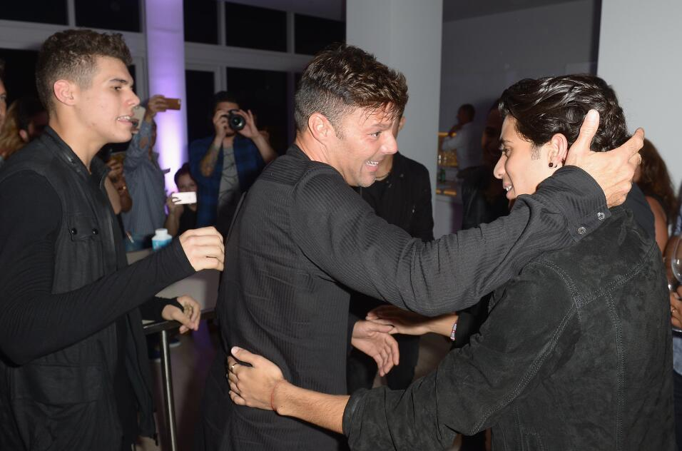 Ricky Martin, invitado de honor en el listening party de CNCO