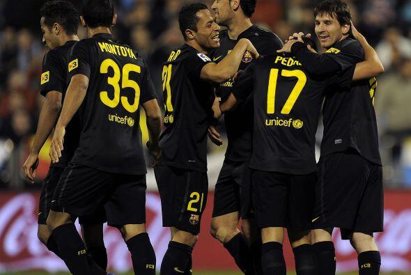 El 4 a 1 lo marcó Pedro en una jugada individual. Gran triunfo 'c...