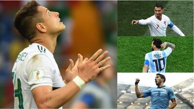 'Chicharito' se une a un selecto club comandado por Cristiano, Messi y Suárez