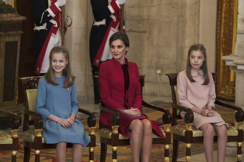 Princesas Leonor y Sofía de España