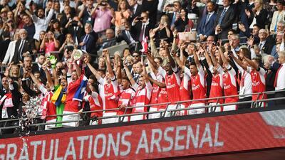 Arsenal levanta el título de la FA Cup