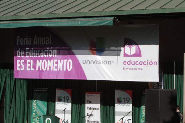 Este 24 de Agosto se celebró la primera feria educativa en Sacram...