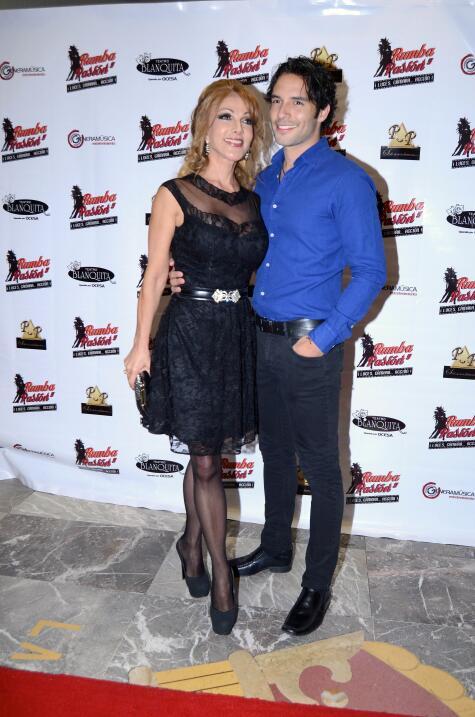 Olivia Collins y Agustín Arguello