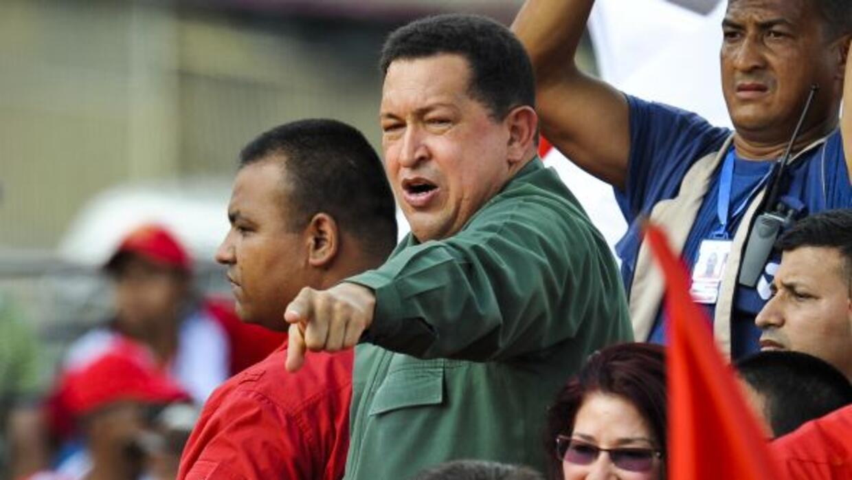 El gobierno venezolano aseguró que el presidente Hugo Chávez se recupera...