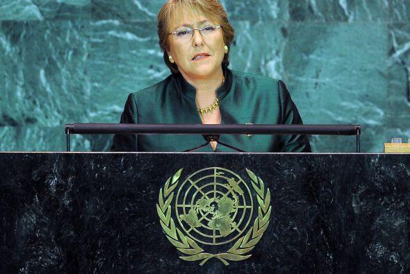 Pediatra de profesión, Michelle Bachelet tiene tres hijos y est&a...