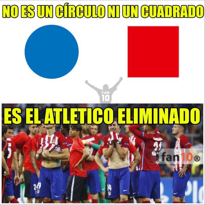 El Atlético se va a Europa League y los memes no se lo perdonaron dquebl...