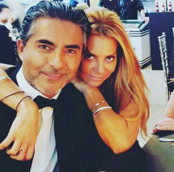 Raúl Araiza esposa
