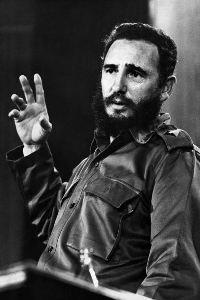 FIDEL CASTRO.- El político y ex mandatario cubano llegó al...