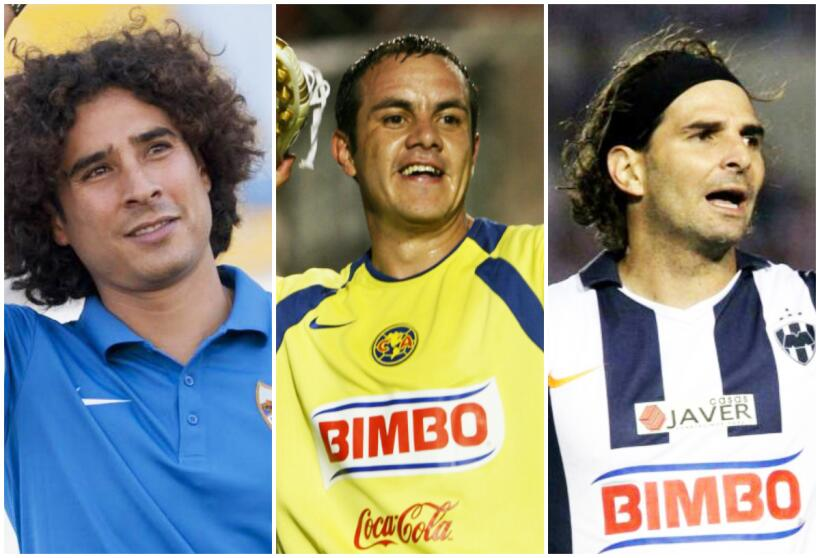 Futbolistas en novelas