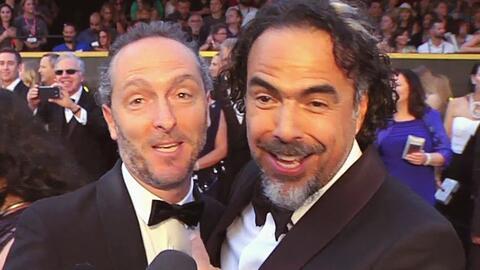 ¿Cómo celebraron Gónzalez Iñárritu y Lubezki al recibir el Oscar?
