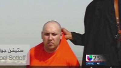 Familia de Sotloff pide a Obama detenga ataques en Irak