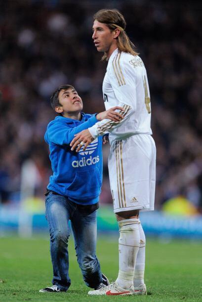 Parece que Sergio Ramos no tiene mucha paciencia con los niños, a...