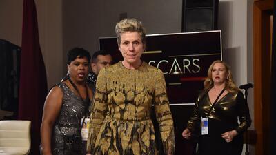 Le robaron el Oscar a Frances McDormand y no necesitó tres 'billboards' para recuperarlo