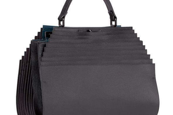 La mujer, de origen israelí, creó un bolso plegable de color negro. (Ima...