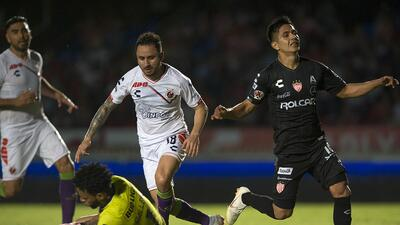 En fotos: los arqueros se destacaron en el empate entre Veracruz y Necaxa