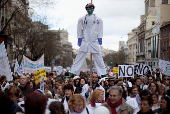 La manifestación del domingo se enmarca en las movilizaciones que los mé...