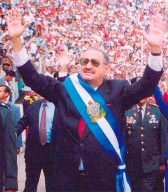 Carlos Roberto Reina, expresidente de Honduras (1994-1998).