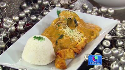 Receta peruana de Pescado a lo Macho con Salsa Madre