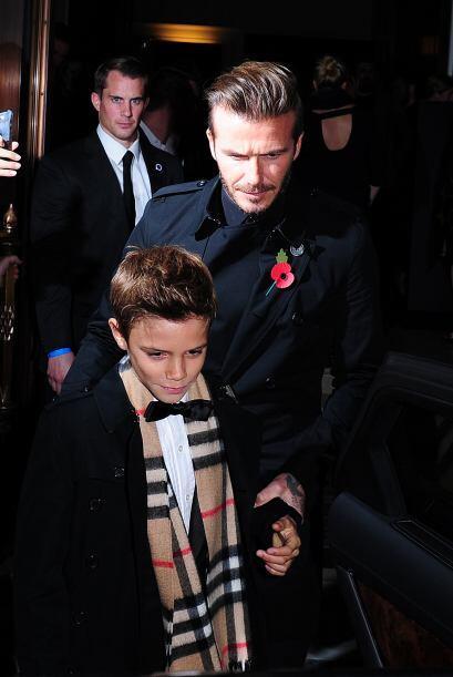 Todos los hijos del crack del fútbol, David Beckham, son bellos. Pero cu...
