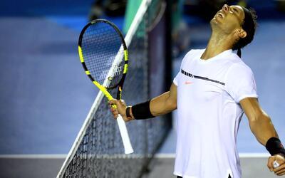 """Rafael Nadal y su paso a semifinal en México: """"Hay que saber ganar cuand..."""