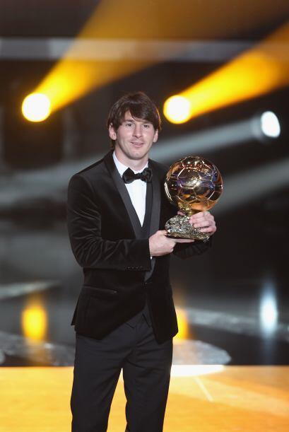 En este 2011, Messi ya convirtió su primer gol.
