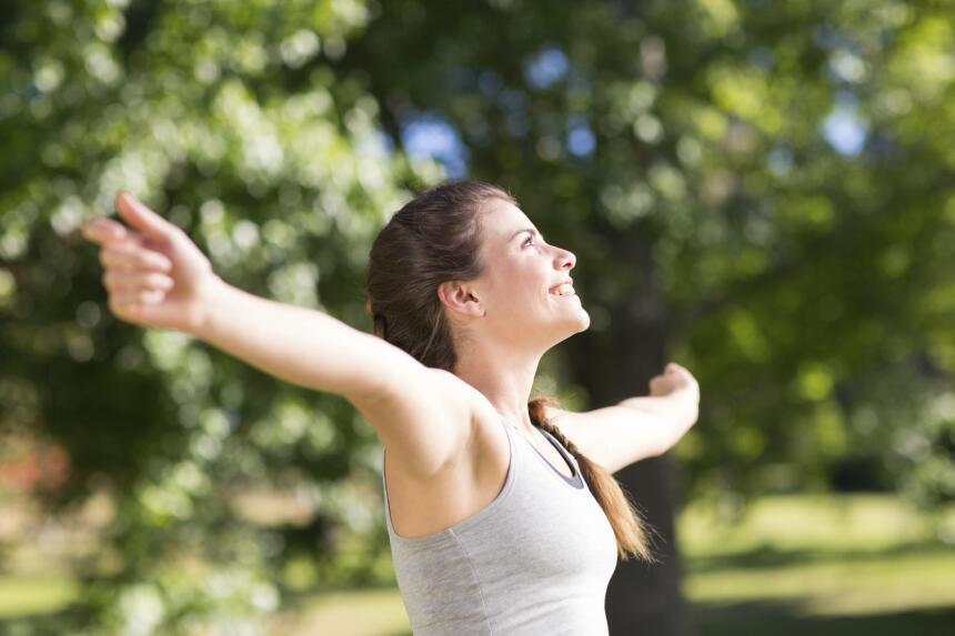 Una buena idea para controlar la ansiedad son los ejercicios de respirac...