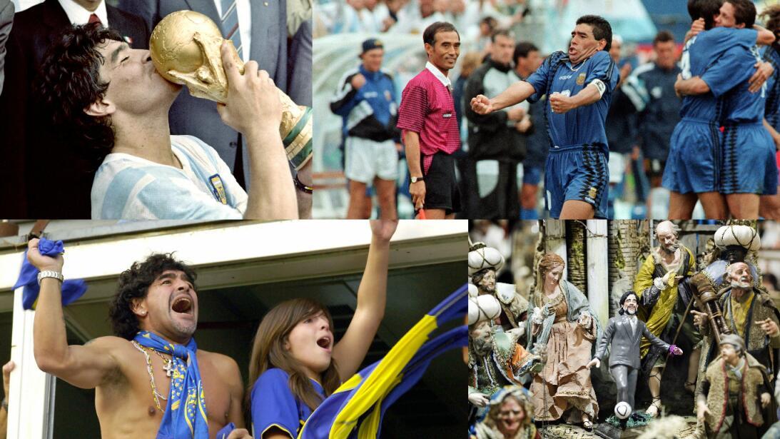 Los 56 años de Diego Maradona, entre la gloria y la controversia Getty-p...