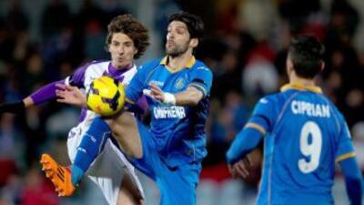 Getafe y Valladolid igualaron entre bostezos.