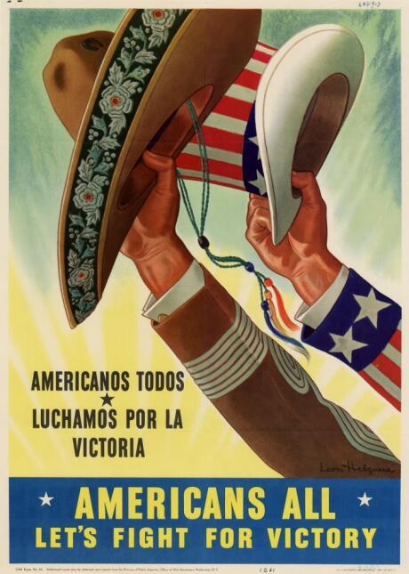 21 carteles anti-nazis creados en México americansallrs1.jpg