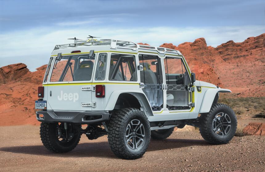 Los conceptos que llegarán el Safari de Pascua Jeep 2017  CN017_007JPcgl...