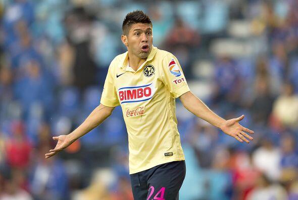 """Oribe Peralta sigue con la puntería perdida, el """"Cepillo"""" no ha m..."""