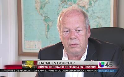 El cónsul de Bélgica en Houston habla sobre los atentados en su país