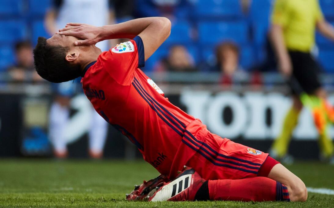 Espanyol 2-[1] Real Sociedad: Héctor Moreno fue titular con el equipo de...