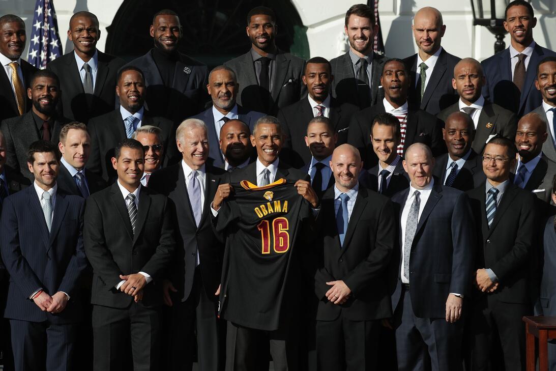 Deportistas y visitas a la Casa Blanca