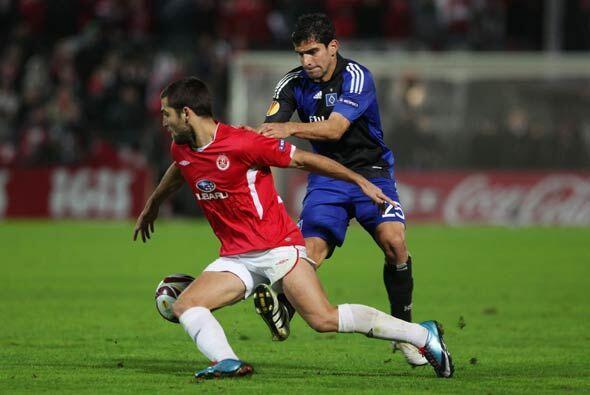 El Hamburgo, que ya estaba clasificado, perdió en Tel-Aviv ante el Hapoel.