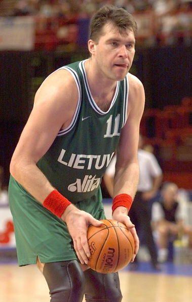 El lituano Arvydas Sabonis ha sido uno de los mejores jugadores europeos...