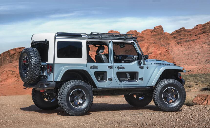 Los conceptos que llegarán el Safari de Pascua Jeep 2017  CN017_012JP169...