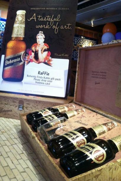 La cerveza Bohemia lanzó una edición especial denominada Frida Kahlo.