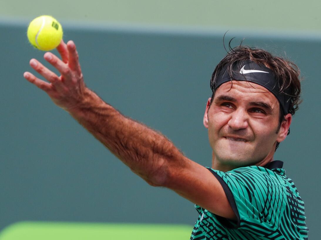 Roger Federer, el contudente campeón del ATP Miami Open 2017 63626760974...