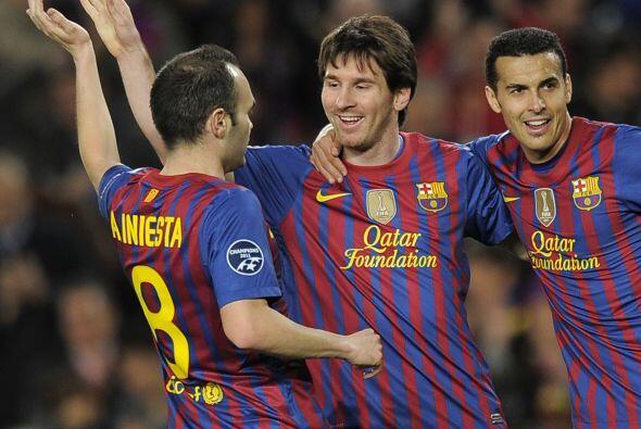 Aunque al llegar a esta jornada a Messi aún le faltaban cuatro goles par...