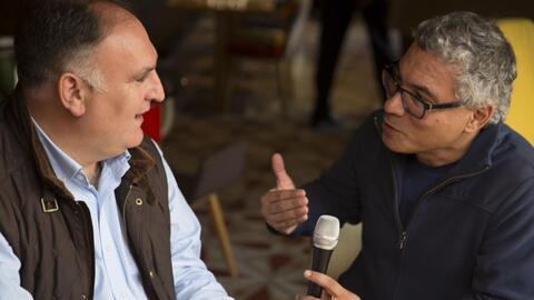 Chef José Andrés: Lo ilegal es que congresistas coman ensaladas cultivad...