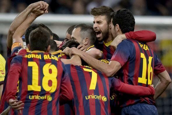 A escasos minutos del final, los catalanes pegaban un golpe de efecto en...