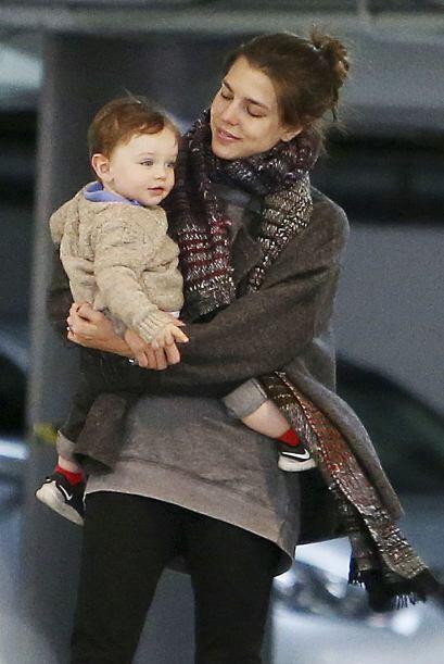 Está enamorada de su nene.