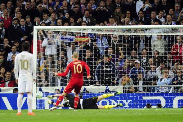 Arjen Robben fue el encargado de ejecutarlo.