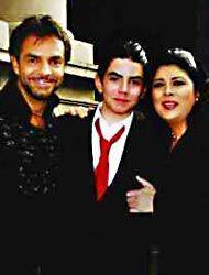 Eugenio, José Eduardo y Victoria juntos