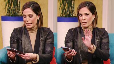 Karla pone a prueba su celular ante la detectora de infieles y encontramos un mensaje romántico