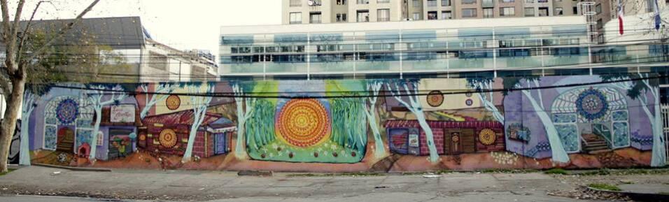 Muralistas chilenas se organizan para tomarse las calles 1005986_2414517...