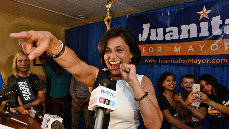 Juanita Pérez-Williams, candidata a la alcaldía de Syracuse.