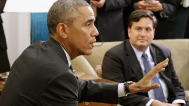 El presidente Barack Obama se reunió con el zar contra el ébola Ron Klain.