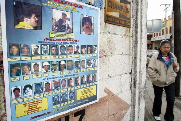 Las operaciones del Cártel de  Sinaloa se centran en la parte de los est...